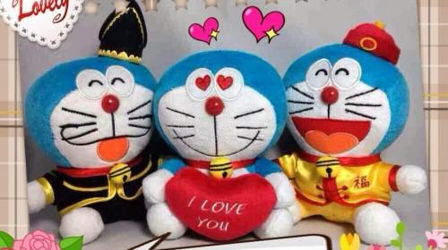 Doraemon Plush Toys at KFC Malaysia