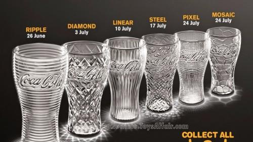 Coca-Cola Glass by McDonald's Malaysia