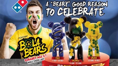 Domino's Popobe Bola Bears