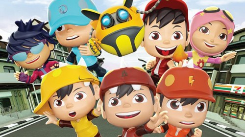 7-Eleven Malaysia's BoBoiBoy 3D Puzzle Figurines