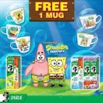 Darlie Malaysia's SpongeBob SquarePants Collectible Mugs