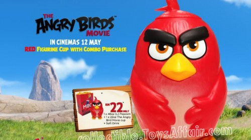 Angry Birds Red Figurine Cup by MBO Cinemas