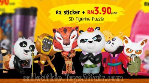 Kungfu Panda 3D Figurine Puzzle by Tesco Malaysia
