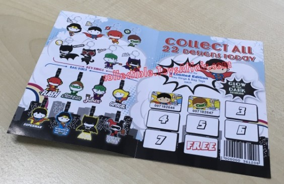 Justice-League-sticker-collection