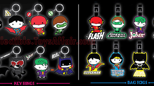 7-Eleven Malaysia's Justice League Ring or Tag™ Collection