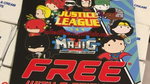 Justice League MAJIG Magnet by 7-Eleven Malaysia
