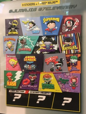 7eleven justice league majig magnet sample